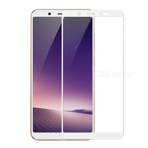 Tempered Glass Screen Guard Ranmel Vivo V7 Black naxtop 2 5d screen coverage tempered glass protector for vivo v7 white free shipping