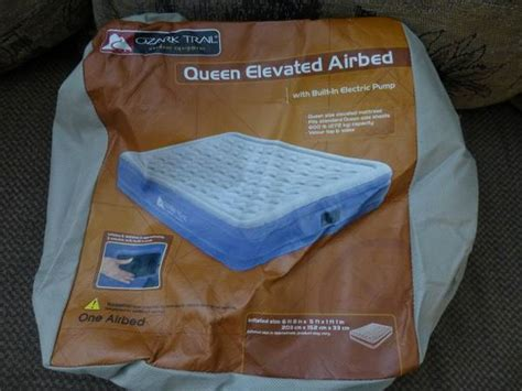 ozark trail air bed espotted
