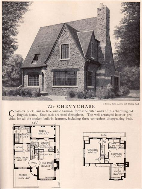 Chevy House Plans And Home On Pinterest 1920s Cottage House Plans