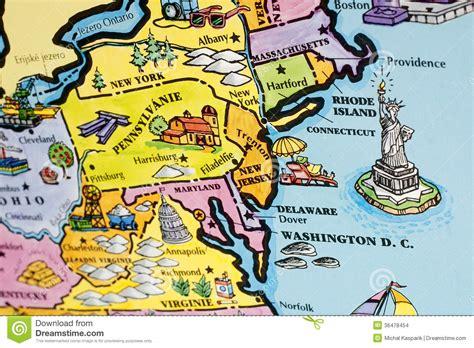 east coast maps usa usa map stock photo image of united earth target