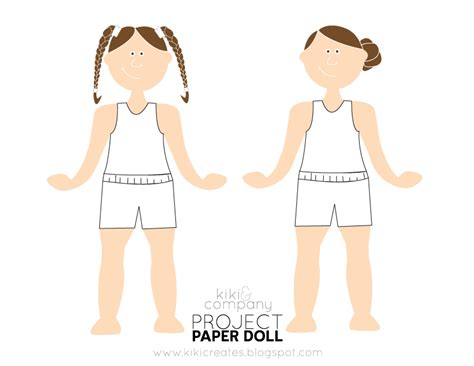 How To Make Paper Clothes For Dolls - project paper doll free company
