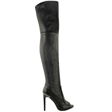 womens thigh high the knee boots platform high
