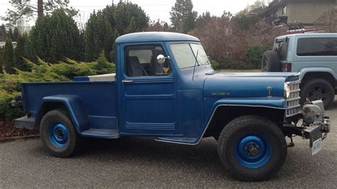 willys jeep truck for find of the week 1951 willys jeep truck autotrader ca