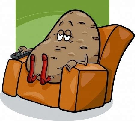 couch potato cartoon john s tumor how inactivity changes the brain or this