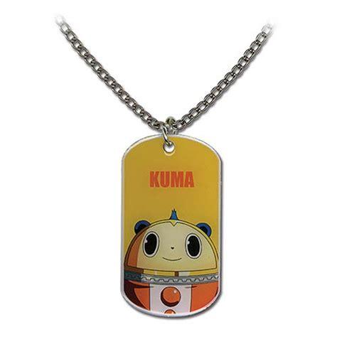 persona 4 kuma tag necklace great eastern