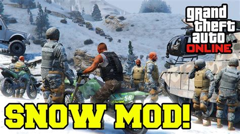 download mod game gta 5 quot gta 5 pc mods quot snow mod online gameplay gta v pc mod
