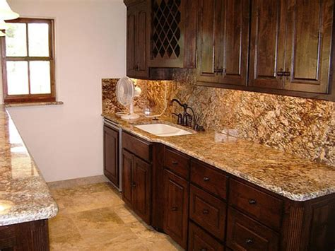 Tumbled Marble Kitchen Backsplash by Countertop Backsplash Pictures And Design Ideas