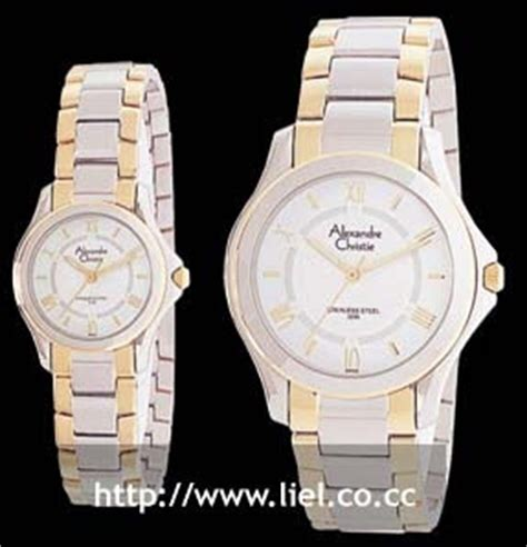 Alexandre Christie 6350 Silver Combi Black jari shopping christie original wacth