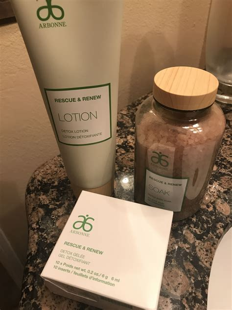 Arbonne Rescue And Renew Detox Scrub by Best Summer Products 2 Beverly Ca Patch