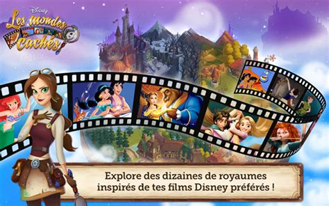film disney jeux video sortie de disney les mondes cach 233 s sur android iphone