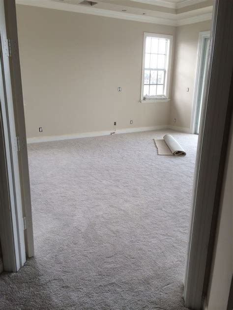 beige carpet grey walls