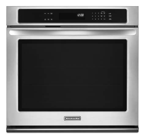 Kitchen Aid Oven by 30 Kitchenaid Single Electric Built In Wall Oven