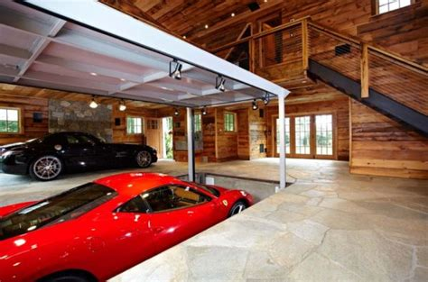 cool home garages parked to perfection stunning car garage designs