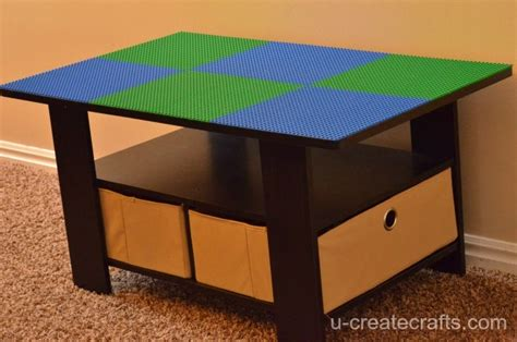 How To Build A Lego Table by Turn A Coffee Table Into A Lego Table U Create