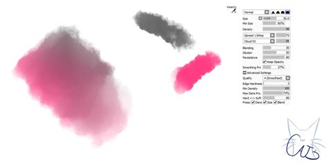 16 paint tool sai brush watercolor brush by catbrushes on deviantart