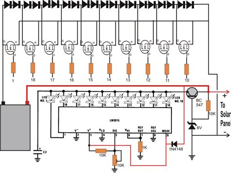 solar cell battery charger circuit diagram efcaviation