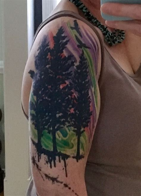 lights tattoos 17 best ideas about alaska on tattoos