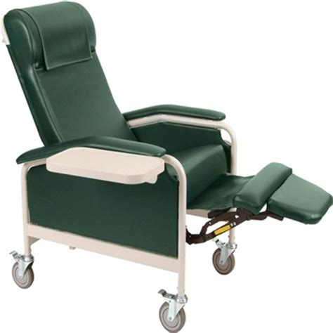 Geriatric Chair by Winco 6530 6531 Carecliner Geriatric Chair