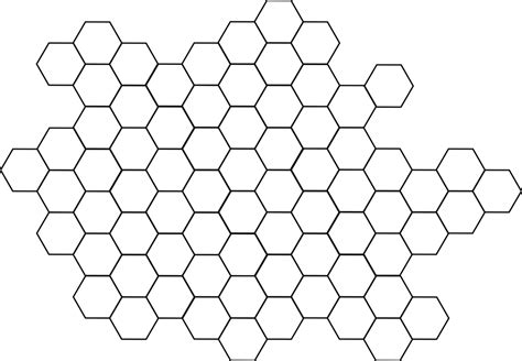 illustrator pattern hexagon free vector graphic hexagon pattern bee hive free