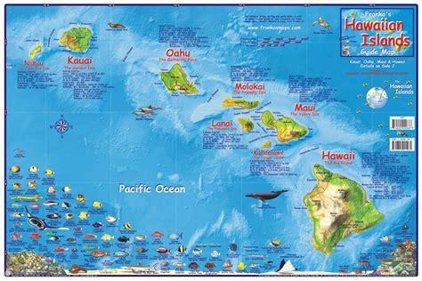 map of hawaiian islands and usa hawaiian island chain map franko s fabulous
