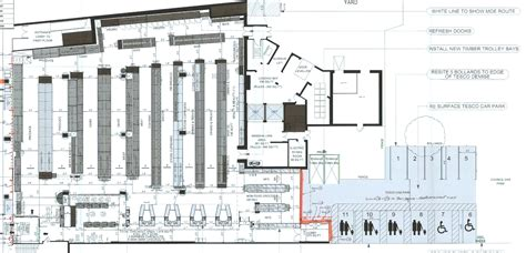 supermarket layout uk tesco to close for major refurbishment teddington
