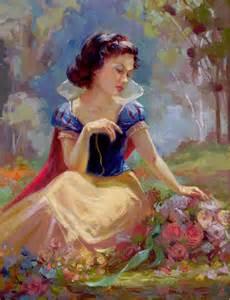Disney Snow White Gathering Flowers   Hero Complex