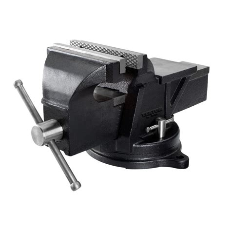swivel bench tekton 6 in swivel bench vise 54006 the home depot