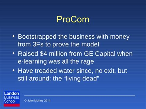 Ge Venture Capital Mba Salary by 2014 Opportunity Assessment By Mullins