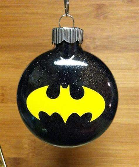 advent day four batman christmas ornament