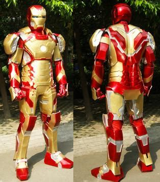 iron man mk ultimate armor cosplay props suit