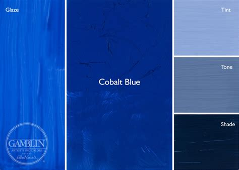 what color is cobalt artist grade colors gamblin artists colors