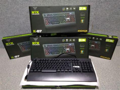 Keyboard Nyk keyboard gaming nyk k 07 terabit komputer