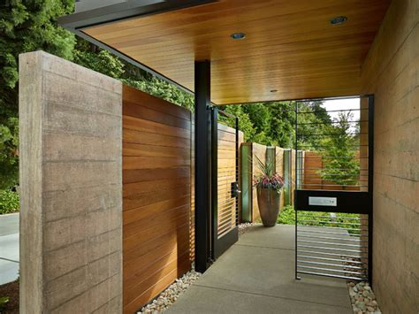 courtyard house deforest architects courtyard house contemporary landscape seattle by