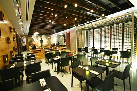 contemporary cafe design interior modern elegant thai restaurant interior design sea las