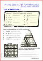 maths worksheets for year 9 boxfirepress