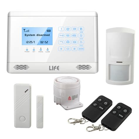 antifurto casa senza fili antifurto allarme touch screen casa kit combinatore gsm