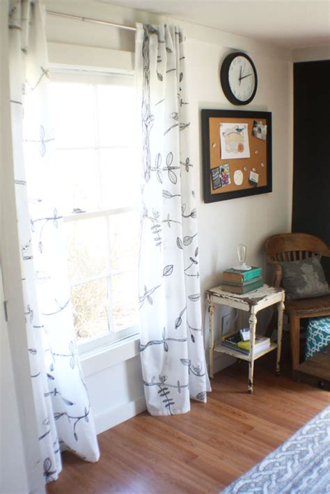 Cottage Style Drapes How To Perfectly Hem Curtains