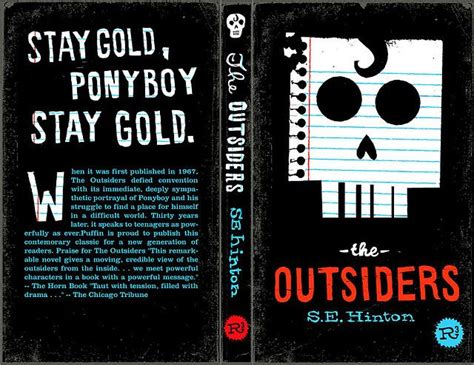 love themes in the outsiders the outsiders by s e hinton cover by mikey burton