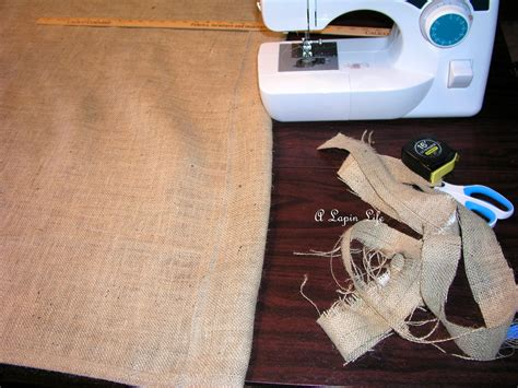 how to make burlap curtains a lapin life how to make burlap drapes for under 15
