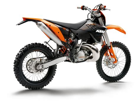 2009 Ktm 200 Xc Review 2009 Ktm Motorcycle Range