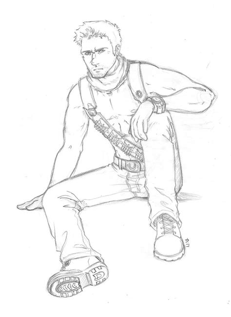 Uncharted 4 Coloring Pages by Nathandrake Free Colouring Pages