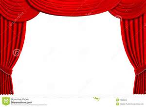 Curtain Speech Theater Drapes Stock Images Image 10920224
