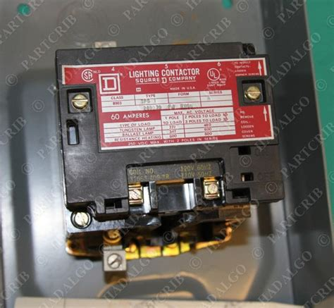 Square D Lighting Contactor by Square D Lighting Contactor 8903 Spg1 209039 Fj 60a New Ebay