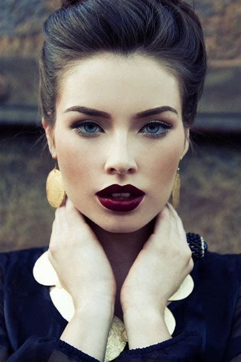 The New Pale Lip by 25 Best Ideas About Burgundy Lipstick On