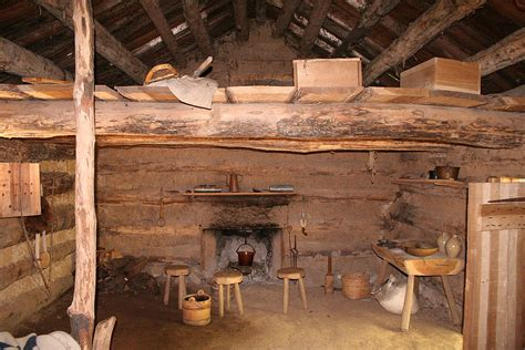 Log Cabin Homes Interior by File Conner Prairie Log Cabin Interior Jpg Wikimedia Commons