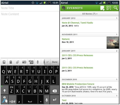evernote for android evernote for android v3 5 update brings auto titles new save feature and more