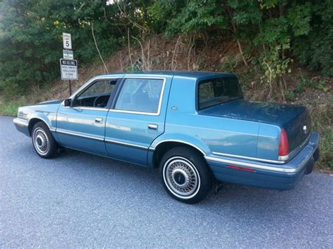 1992 Chrysler New Yorker by Buy Used 1992 Chrysler New Yorker Cold A C 3 3 V6