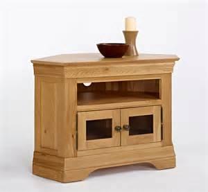 Glazed Cabinets Out Of Style French Modern Oak Corner Tv Unit Hampshire Furniture