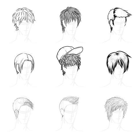 Anime Hairstyles by Anime Boy Haircuts Haircuts Models Ideas