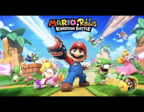Kaset Nintendo Switch Mario Rabbids Kingdom Battle nintendo switch mario rabbids update e3 2017 plans and stock news gaming